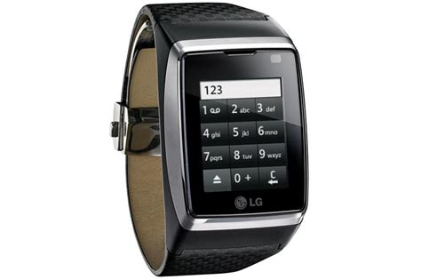 Lg To Launch The 'world's First' Touch-screen Watch Phone
