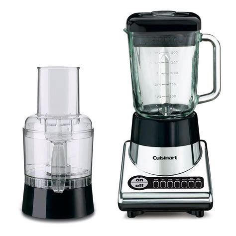 cuisinart home cuisine cuisinart power blend duet blender food processor bfp 10ch