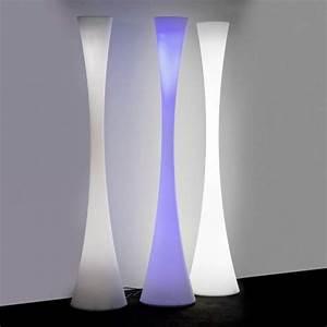 Luminaire Sur Pied : lampadaire martinelli luce biconica led rgb lampadaires ~ Nature-et-papiers.com Idées de Décoration