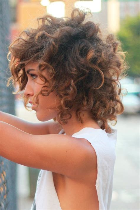 Best 25  Short curly hairstyles ideas on Pinterest