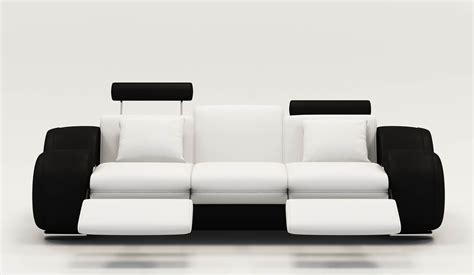 canape noir et blanc canape cuir relax noir et blanc canap 233 id 233 es de