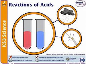 Reactions Of Acids