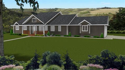 curb appeal  ranch style homes decks  ranch style homes house plans  decks