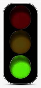 Traffic light clipart no background