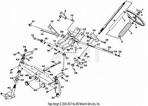 Gravely 47580 20hp  With Hydraulic Lift Parts Diagram For