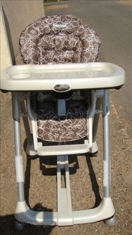Chaise Haute Prima Pappa Diner by Chaise Haute Peg Perego Prima Pappa Diner Savana Cacao