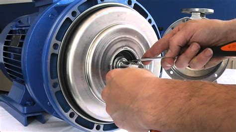 ebara serie  mechanical seal disassemblingeng youtube