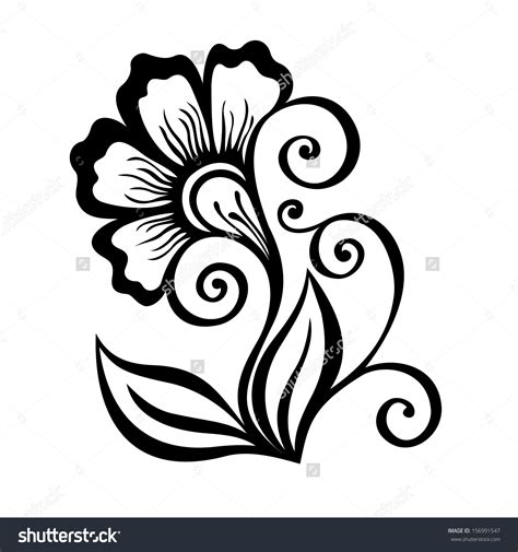 easy floral designs beautiful flower designs to draw easy drawing of sketch