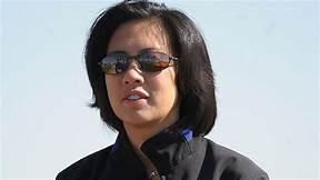 Marlin's new GM. Kim Ng