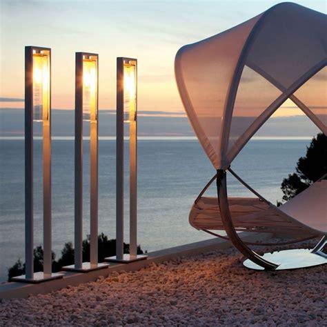 grand bureau blanc lampadaire exterieur design 42 idées lumineuses