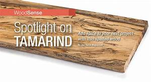 Woodsense: Spotlight on Tamarind