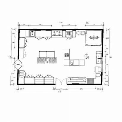 Kitchen Restaurant Cad Blocks Layout Plan 2d