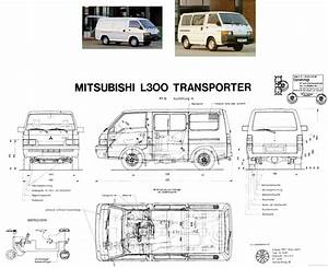 Mitsubishi L300 Delica Workshop Wiring Diagram