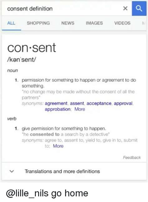 consent definition  shopping news images