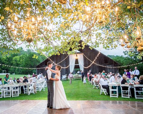 outdoor wedding fun enchanted brides