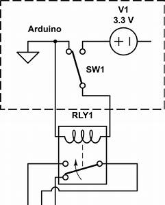 arduino create spdt relay from two spst solid state With spdt relay circuit