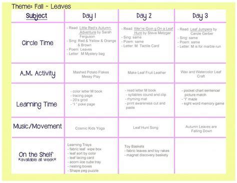 fall leaves lesson plan preschool activities 642 | 332816f306505936876fdcd71aaf5a8f