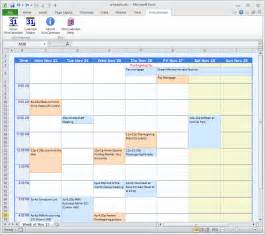 Microsoft Excel Weekly Schedule Template Calendar Maker Calendar Creator For Word And Excel