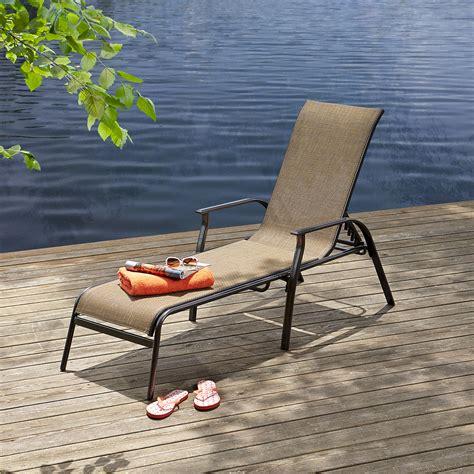 essential garden fulton sling lounge outdoor living