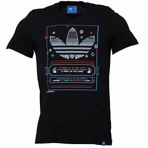 Tee Shirt Adidas Original Homme : adidas originals tee shirt pixel homme noir ~ Melissatoandfro.com Idées de Décoration