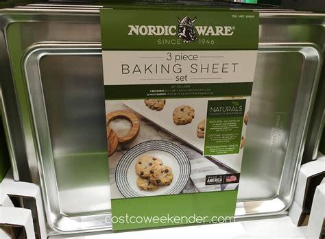 ware nordic piece baking sheet costco aluminum bake cookies
