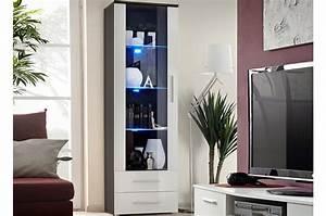 Meuble Avec Vitrine : meuble vitrine avec clairage led ~ Teatrodelosmanantiales.com Idées de Décoration
