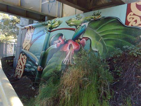 Grafiti Garuda : West Auckland House Painters Graffiti Guard Painting