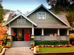 Craftsman Style House with Siding