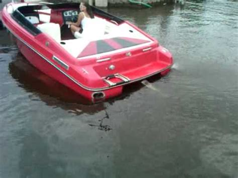 V8 Boat Fails by 5 0 V8 Start Up Corsa Exhaust Boat Pipes