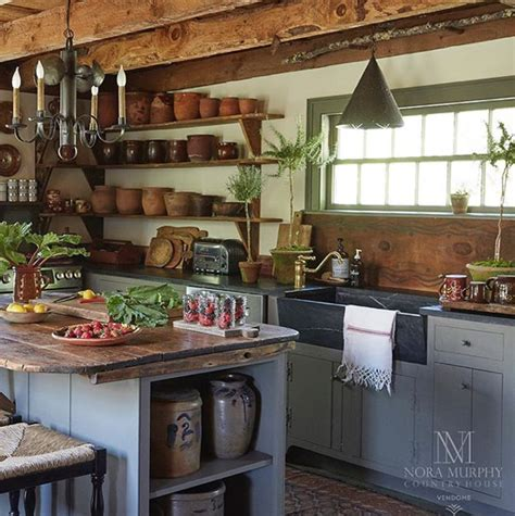 Nora Murphy Country House Style Kitchens Kitchen