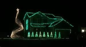michigan state fan sets light display to