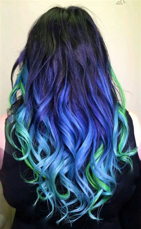 25 Best Ideas About Blue Green Hair On Pinterest Teal