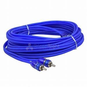 0 Gauge Ofc Amplifier Wiring Kit Stinger Select Blue Amp