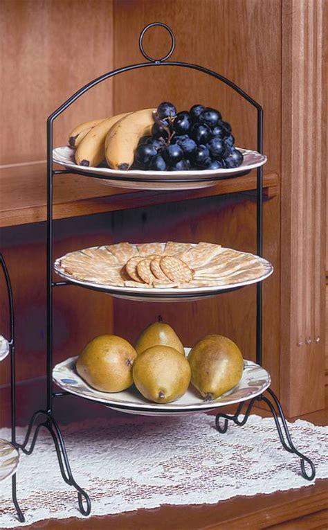 tier pie stand creative home   tier dessert plate rack
