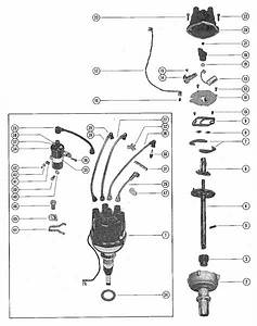 Mercruiser 140 Gm 194 I    L6 1963 Distributor Assembly