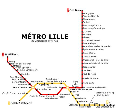 metro port de lille file lille metro map png wikimedia commons