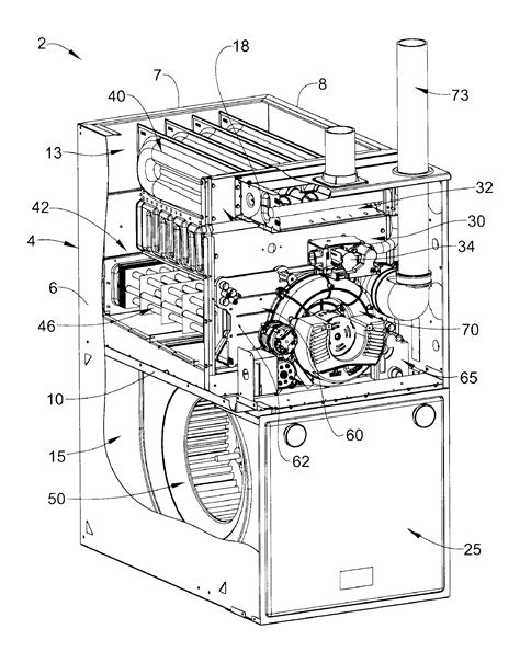 Patent Gas Furnace Condensate Collector