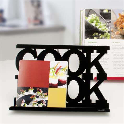repose livre cuisine repose livre tablette cook book noir