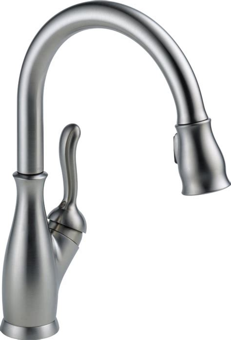 delta faucet 9178 ar dst 5 best pull kitchen faucet functional beautiful
