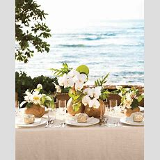 Island Time 10 Ideas For Throwing A Tropical Wedding