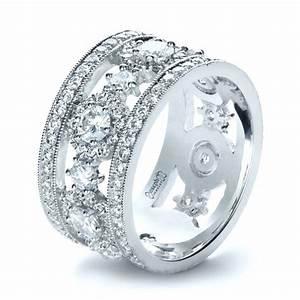 custom diamond anniversary band 1404 With wedding anniversary rings diamonds