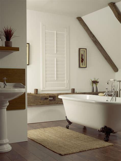 Modern Bathroom Blinds by White Bathroom Shutters Bathroom In 2019 Contemporary