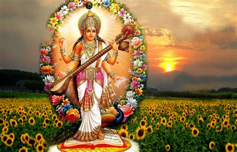 Animated Goddess Saraswati Wallpaper - kool image gallery goddess saraswati mata hd wallpapers