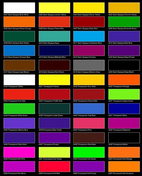 fluorescent l color chart 17 best amsterdam fashion institute images on pinterest