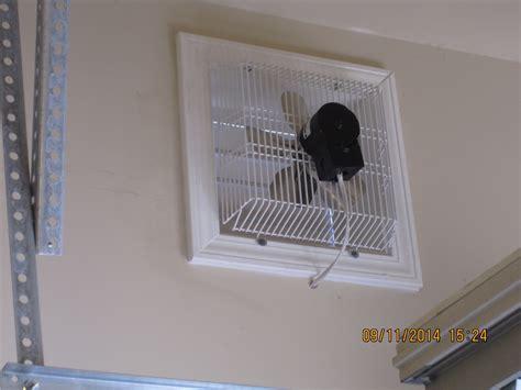 garage wall exhaust fan gft 16 through wall garage fan cool my garage