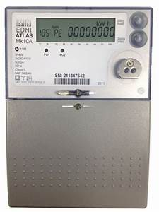 Edmi Mk10a Three Phase Direct Connect Smart Meter