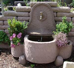 schopfbrunnen springbrunnen brunnen wasserspiel With französischer balkon mit brunnen garten stein