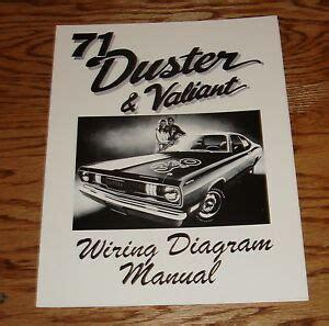Plymouth Duster Valiant Wiring Diagram Manual Ebay