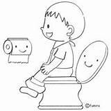 Toilet Coloring Preschool Training Pages Picasa Web Juan San Potty Clip Cartoon Thema Lichaam Mijn Classroom sketch template