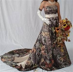 hunting themed weddings and the choice for mossy oak With mossy oak wedding dress
